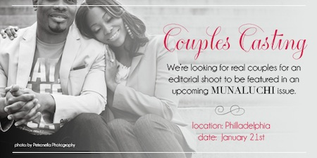 Munaluchi Bride Couples Casting