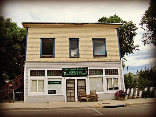 reflection colorado diner hdr greasyspoon smalltown collbran temporarysigns