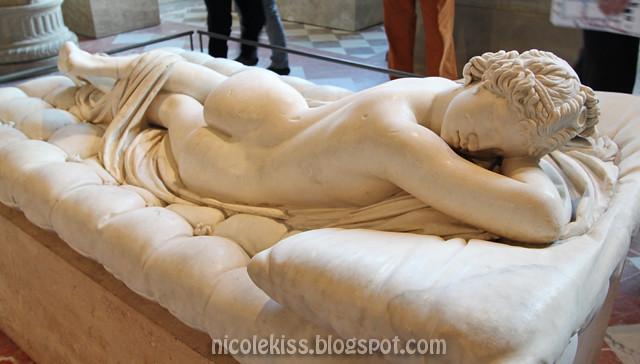 Borghese Hermaphroditus_Paris the Louvre