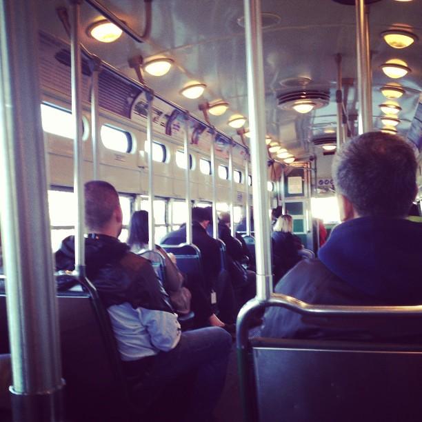 Tram time.