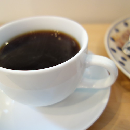 Cafe Bikiniでコーヒーを飲んだ。
