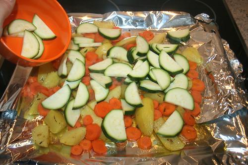 31 - Zucchini addieren / Add zucchini