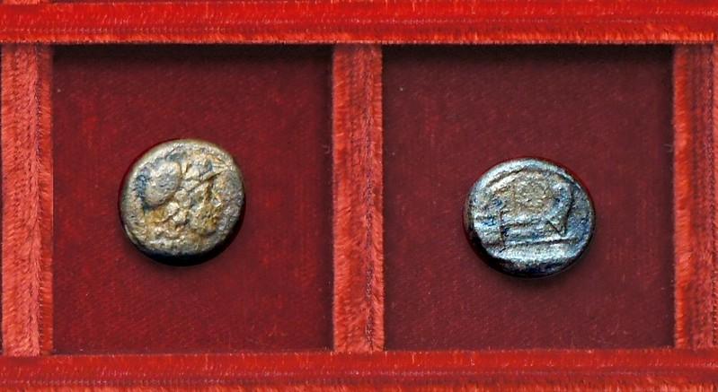 RRC 239 C.SERVEILI M.F Servilia triens, Ahala collection, coins of the Roman Republic