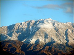 Keller Peak from Caroline Park, Redlands, CA 12-30-12f