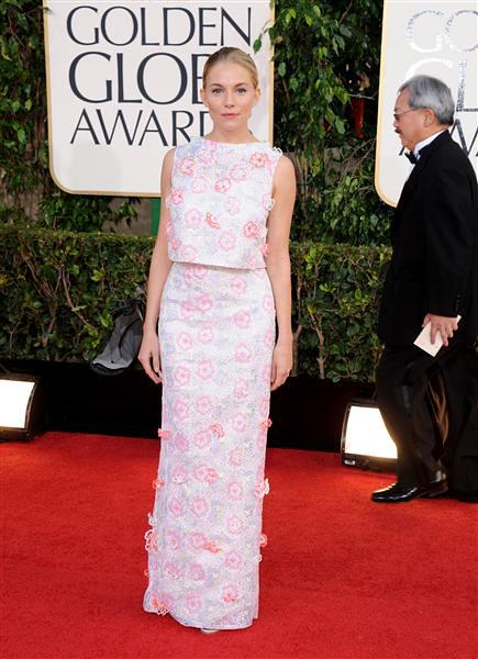 Golden Globe Sienna Miller 2013