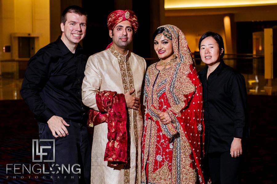 Group Photo! | S & A's Shaadi/Baraat | Atlanta Marriott Marquis | Atlanta Pakistani Muslim Wedding Photographer