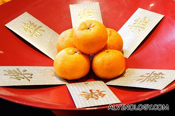 Prosperity Mandarin oranges