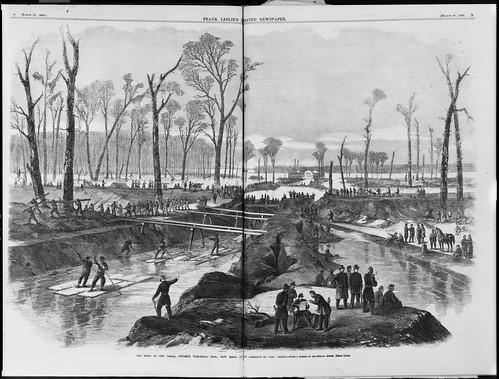 Canal opposite Vicksburg