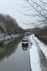 Snowy Oxford Canal