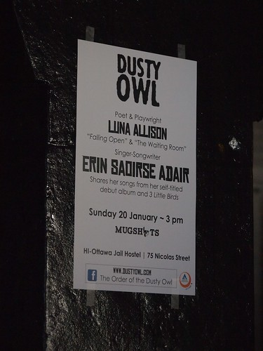 dusty owl poster