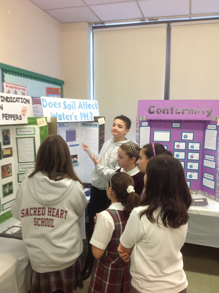 8th grade science fair projects | Sacred Heart School | Flickr