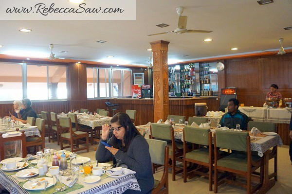 Breakfast - westwood resort chitwan nepal (2)