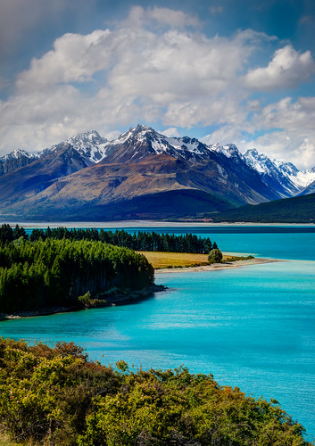 The Blue of Lake Pukaki