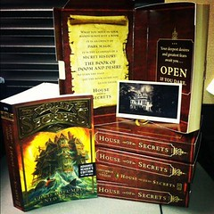 'House of Secrets' Promotional Packaging