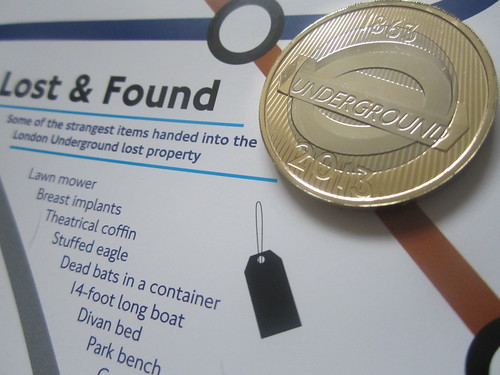 London Undeground £2 Roundel Coin