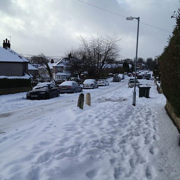 #snow #road