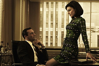 mad men's sexy sexy secretary!