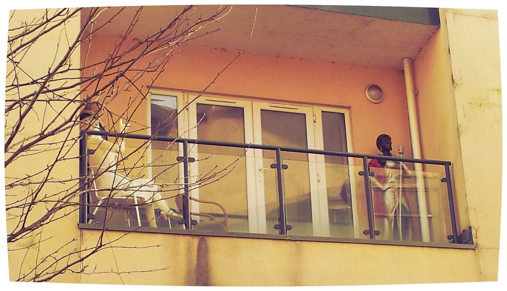 Cardiff Bay Balcony Movie Stars