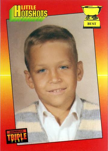 Baseball Card Bust Cal Ripken Jr 1992 Donruss Triple Play Little