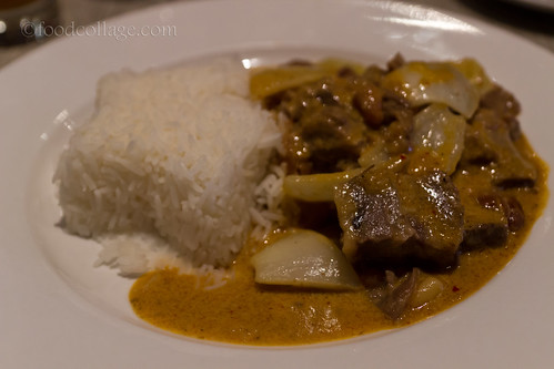 """Mussamun"" Curry Beef Brisket at Thai Basil (Toronto)"