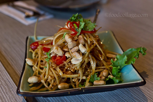 Green Papaya Salad at Thai Basil (Toronto)