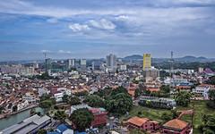 Malacca from Taming Sari Tower