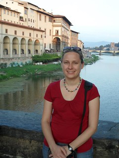 Amy Pate in Florence