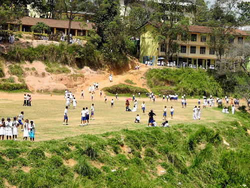 School in Idalgashinna, Sri Lanka