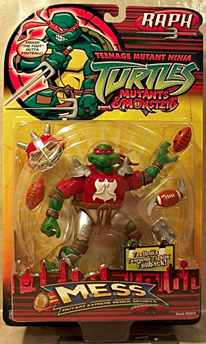 """MUTANT EXTREME SEWER SPORTS"" TEENAGE MUTANT NINJA TURTLES :: M.E.S.S. RAPH - A (( 2006 )) [[ ..courtesy of The Virtual NINJA TURTLE Museum ]]"