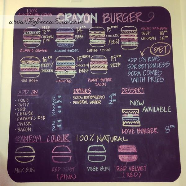 crayon burger - ss15