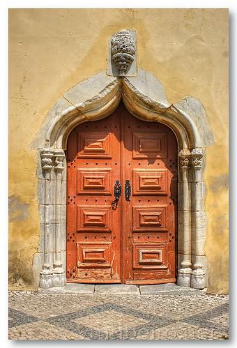 Portal lateral da igreja de S. João Batista by VRfoto