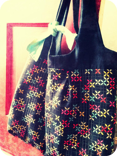 pinafore bag.