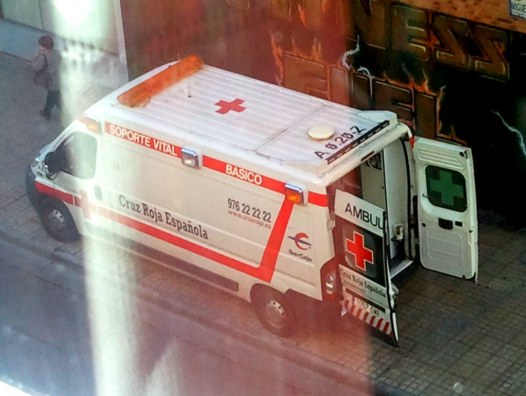 Emergencias Zgz S Most Recent Flickr Photos Picssr # Muebles Para Peugeot Boxer