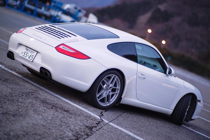 Planar : Weiß Porsche 911