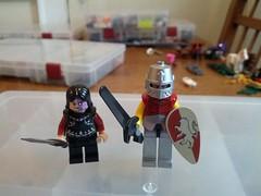 Sandor and Gregor Clegane