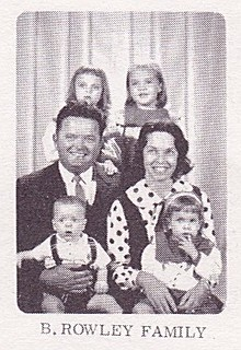 B. Rowley Family, 1964