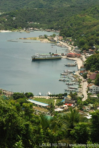 View of the Port of Romblon Island, Romblon Province, Philippines