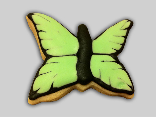 Cookies for Cauderys 05 - Butterfly cookies