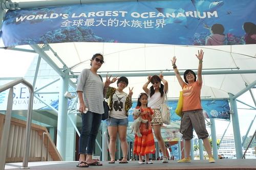 to the SEA Aquarium