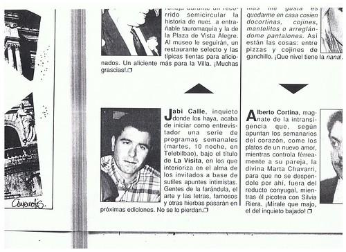 Reseña La Ria del Ocio JUNIO 1995 by LaVisitaComunicacion
