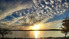 Wispy Whiterock Sunset
