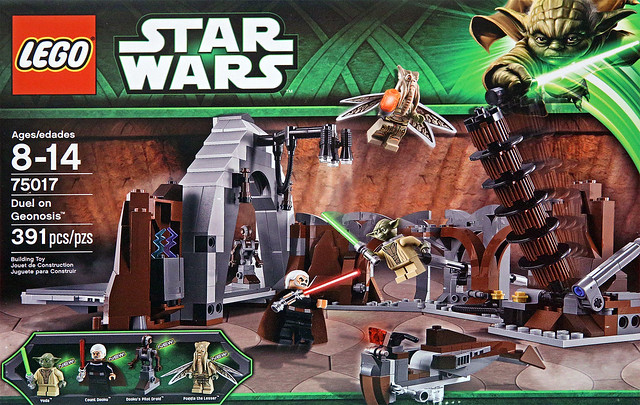 LEGO Star Wars 75017 - Duel on Geonosis