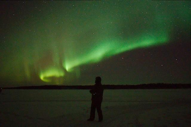 Me watching the Aurora