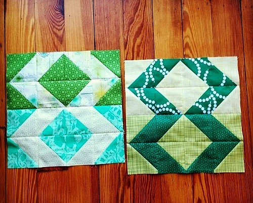 February dGS complete! Bracket Blocks by @lindsaysews