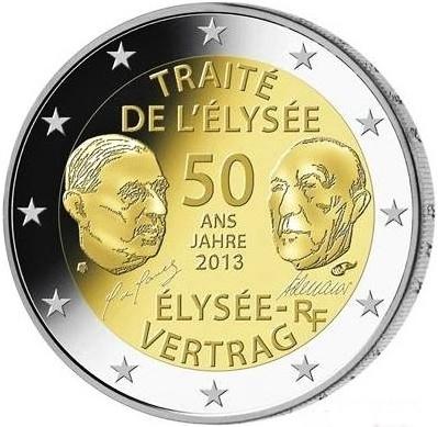 *2 Euro Francúzsko 2013, Elyzejská zmluva