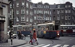 Amsterdam: spitsuur 40 jaar geleden / rush hour 40 years ago