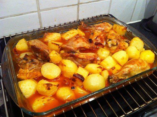 Chicken in the oven - Portuguese Style