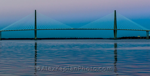 Arthur Ravenel Jr. Bridge  - Charleston, South Carolina By Alex Kaplan, www.AlexKaplanPhoto.com by Alex Kaplan, Photographer