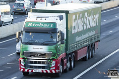 Volvo FH 6x2 Tractor - PX10 DCU - Sommer May - Eddie Stobart - M1 J10 Luton - Steven Gray - IMG_0574