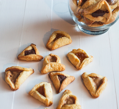 ... and still can't let a year pass without making some hamantaschen